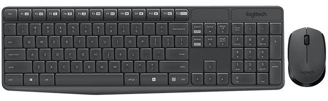 Set klávesnica a myš MK235 CZ/SK