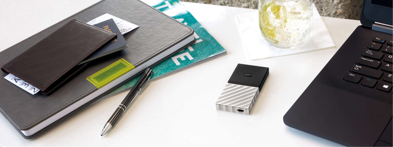 Externý disk WD My Passport SSD