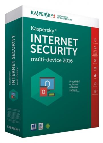 Kaspersky Internet Security 1+1 PC/1rok Upgrade