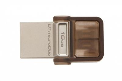 KINGSTON 16GB DT MicroDuo USB 2.0 OTG