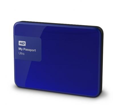 "Western Digital Externý disk 2.5"" My Passport Ultra 500GB USB modrý"