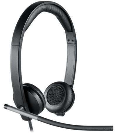 LOGITECH H650e USB Stereo Headset