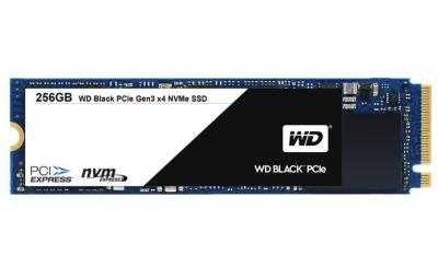 Western Digital SSD M.2 256GB Black series 2280 PCIe Gen3 x4 NVMe