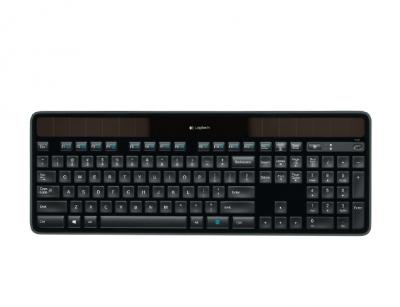 LOGITECH Bezdrôtová klávesnica K750 Solar UK