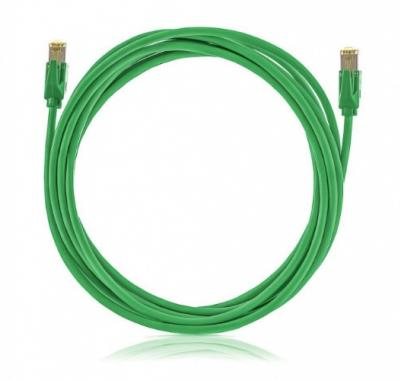 SOLARIX Patch kábel CAT5E SFTP PVC 15m zelený