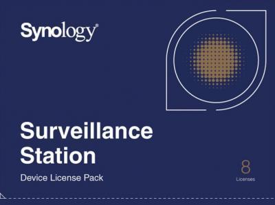 Synology Kamerová licencia Device License 8x