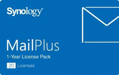 Synology MailPlus 20 licencií