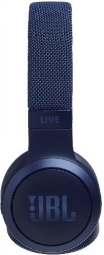 JBL Live 400BT slúchadlá modré