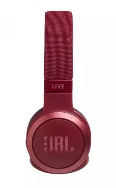 JBL Live 400BT slúchadlá červené