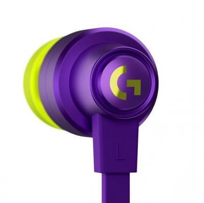 LOGITECH G333 herné slúchadlá fialové