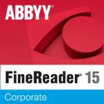 ABBYY FineReader 15 Corporate Single User License (ESD) 12 mesiacov 31 - 50 licencií